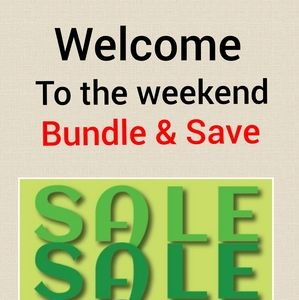 Bundle & save up to 20%! Buy more save more!!